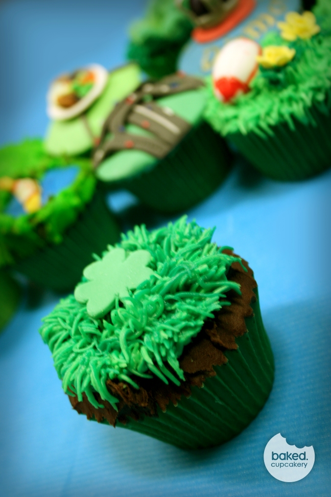 UK Celebration Cupcakes - Northern Ireland Cupcake