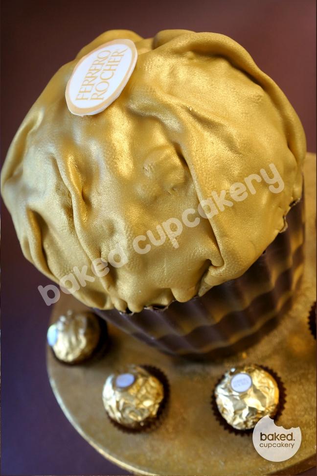 Giant Ferrero Rocher Cake