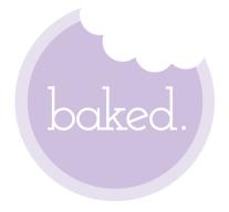 baked cupcakery logo